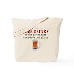 Free Drinks Tote Bag