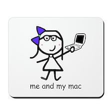 Girl & Mac Mousepad