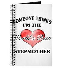 World's Best Step Mother (Heart) Journal