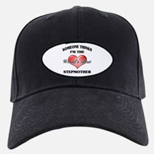 World's Best Step Mother (Heart) Baseball Hat