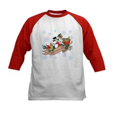 Snowman Merry Christmas Tee