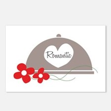 Romantic Dinner Postcards (Package of 8)