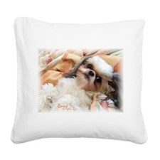 Bonnytheshihtzu_snuggles Square Canvas Pillow