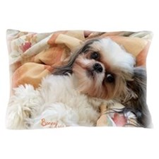 BonnyTheShihTzu_Snuggles Pillow Case