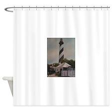 LIGHTHOUSE MEMORIES Shower Curtain