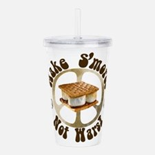 smorepeace.png Acrylic Double-wall Tumbler