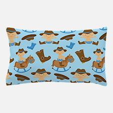 Cowboy Baby Rocking Horse Pillow Case