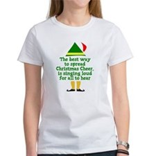 Unique Elf quotes Tee