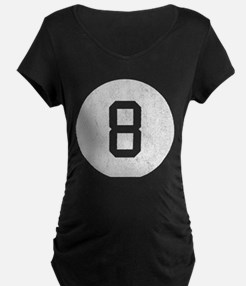 Vintage 8 Ball Maternity T-Shirt