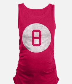 Vintage 8 Ball Maternity Tank Top