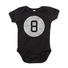 Vintage 8 Ball Baby Bodysuit