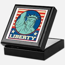 USA Liberty Keepsake Box