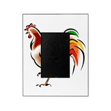 Colorful Rooster Picture Frame