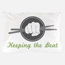 Fist With Drum Stick Pillow Case
