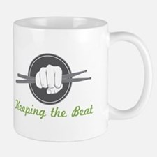 Fist With Drum Stick Mugs