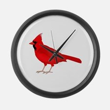 Claret Cardinal Large Wall Clock