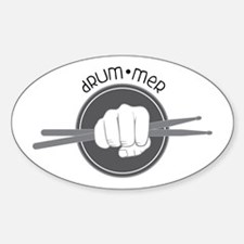 Fist With Drum Stick Decal