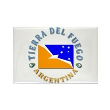 Tierra del Fuego Rectangle Magnet (100 pack)
