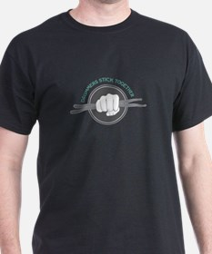 Fist With Drum Stick T-Shirt