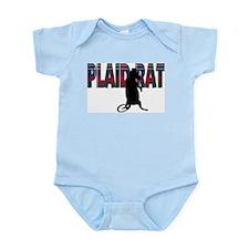 Plaid Rat Infant Bodysuit