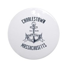 Charlestown, Boston MA Ornament (Round)