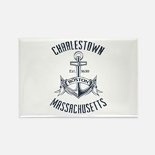 Charlestown, Boston MA Rectangle Magnet