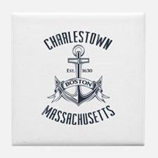 Charlestown, Boston MA Tile Coaster