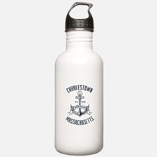 Charlestown, Boston MA Water Bottle