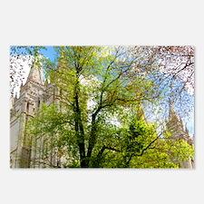 Green Tree, Salt Lake Temple Postcards (Package of