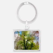 Green Tree, Salt Lake Temple Keychains