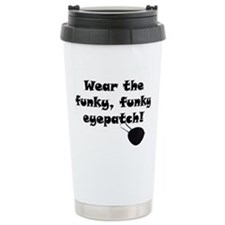 Cute Eyepatch Travel Mug