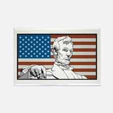 Lincoln Memorial Rectangle Magnet (100 pack)
