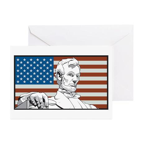 Lincoln Memorial Greeting Cards (Pk of 10)