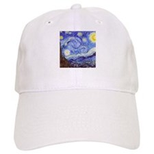 The Starry Night Vincent Van Gogh Baseball Cap