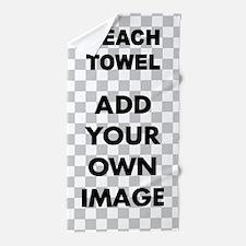 Custom Add Image Beach Towel