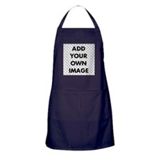 Custom Add Image Apron (dark)