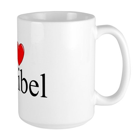 """I Love Sanibel"" Large Mug"
