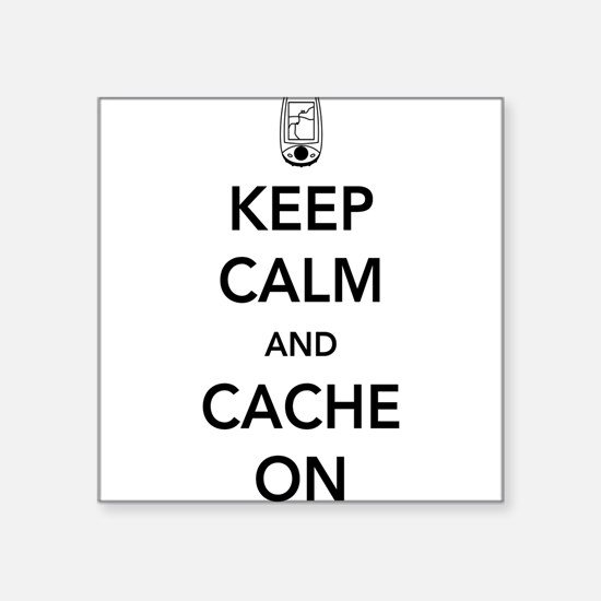 Keep and calm cache on Sticker