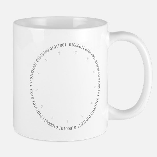Cyber Security Gray Mug