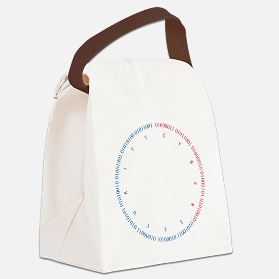 Cyber Security w/ Text RB Canvas Lunch Bag