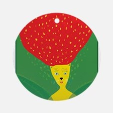 Strawberry Forevers Ornament (Round)