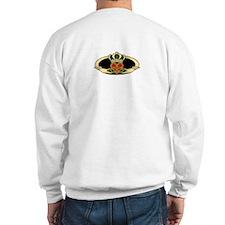Poly Claddagh Medallion Sweatshirt