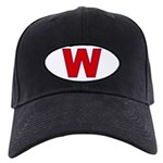 W (I support George Bush) Black Cap