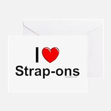 Strap-ons Greeting Card