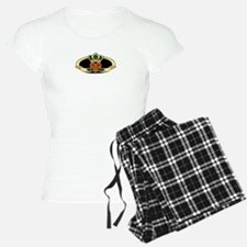 Poly Claddagh Medallion Pajamas