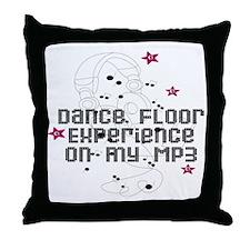 Dance floor Throw Pillow
