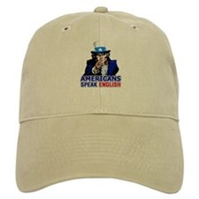 Americans Speak English Baseball Cap
