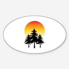 Moon Trees Decal