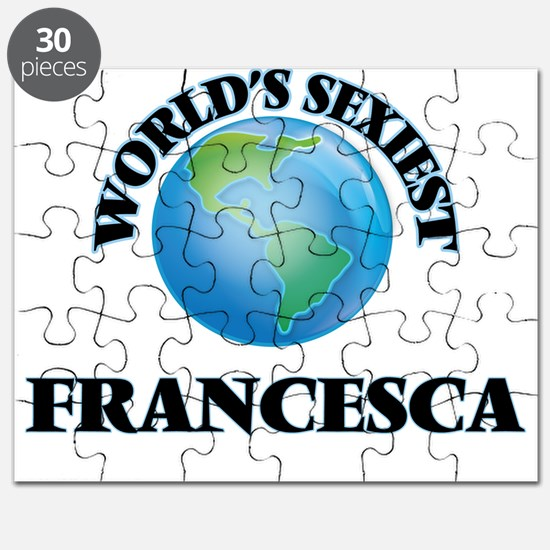 World's Sexiest Francesca Puzzle