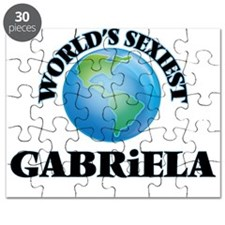 World's Sexiest Gabriela Puzzle